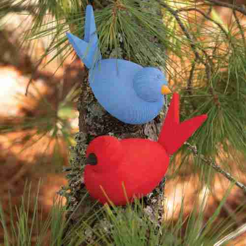 Swedish Wooden Birds