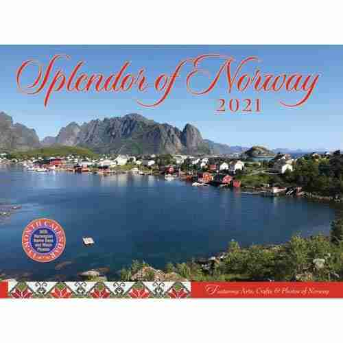 2021 Splendor Of Norway Calendar