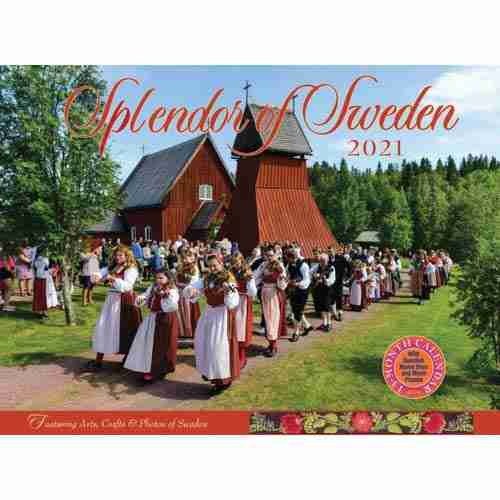 2021 Splendor Of Sweden Calendar