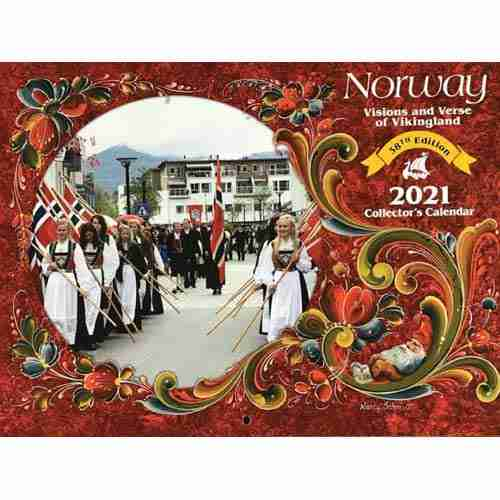 2021 Norway Visions and Verses Calendar