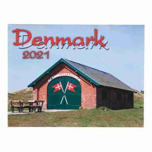2021 Denmark Calendar