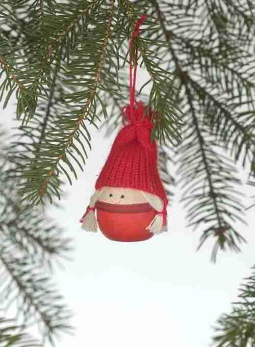 Tomte Girl Ornament