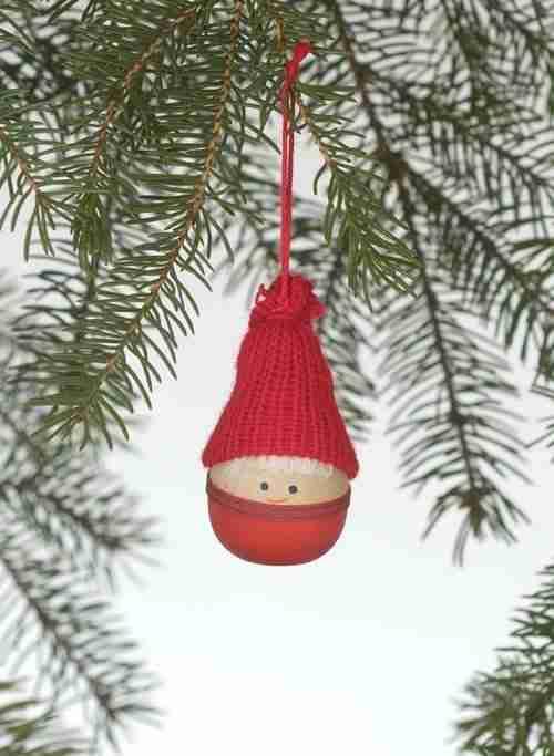 Tomte Boy Ornament
