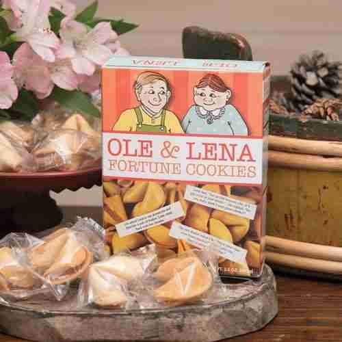 Ole and Lena's Scandinavian Fortune Cookies