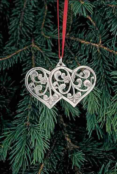 rosemaled hearts