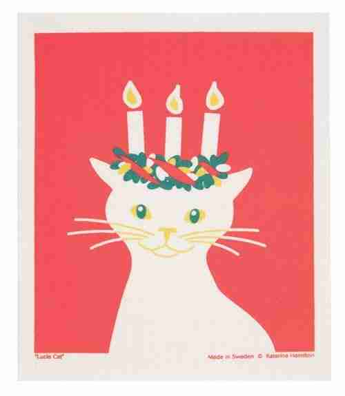 Cat with Candles