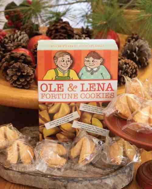 Ole and Lena's Scandinavian Fortune Cookies