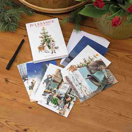 Danish Julesange Note Cards