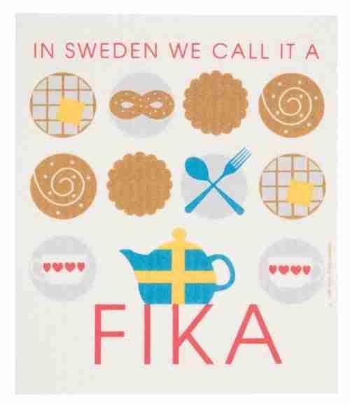 Swedish Dishcloth - Fika