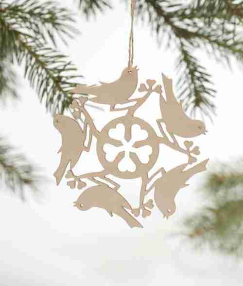 Laser-Cut Decorations - Birds