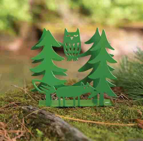 Fox & Owl Napkin Holder