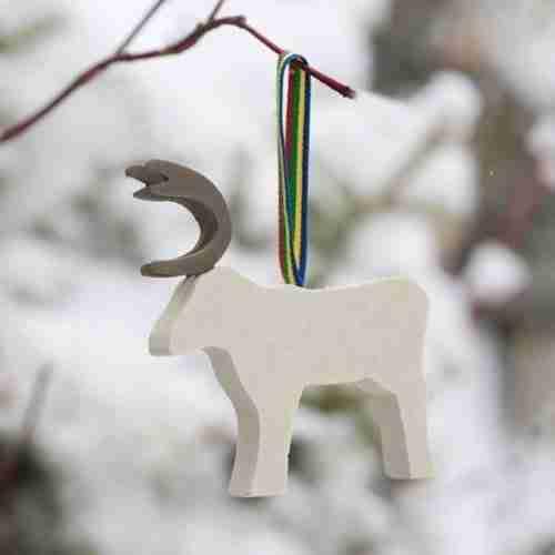 Swedish Reindeer Ornament