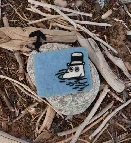 Save our Sea Felt Coin Purse