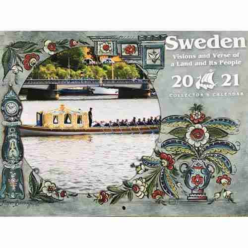 2021 Sweden Visions and Verses Calendar