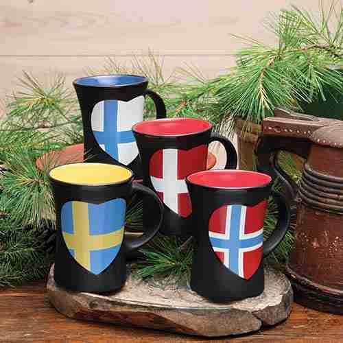 Nordic Flag Mugs