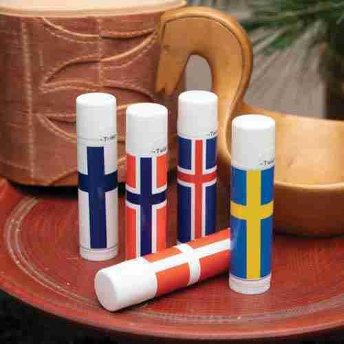 Nordic Flag Lip Balm