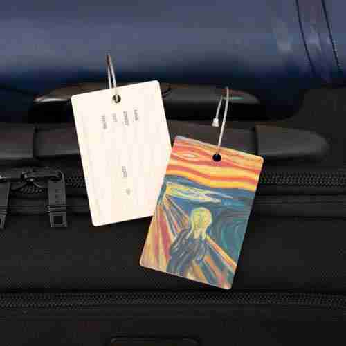Scream Luggage Tag from Sweden