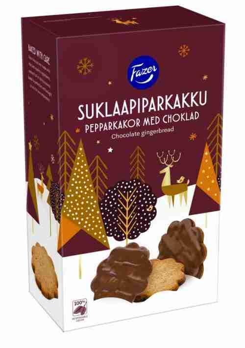 Chocolate Covered Pepperkakor