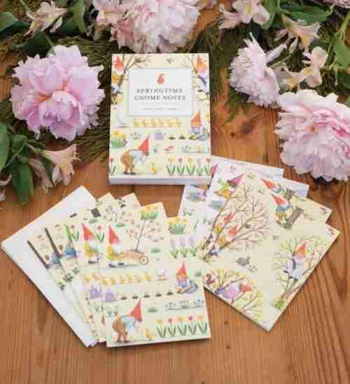 Springtime Gnome Notes
