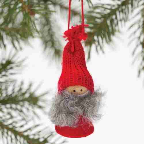 Tomte Girl with Ribbon