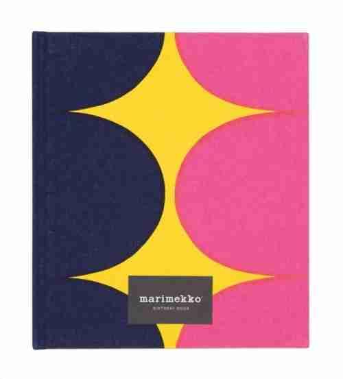 Marimekko Birthday Book