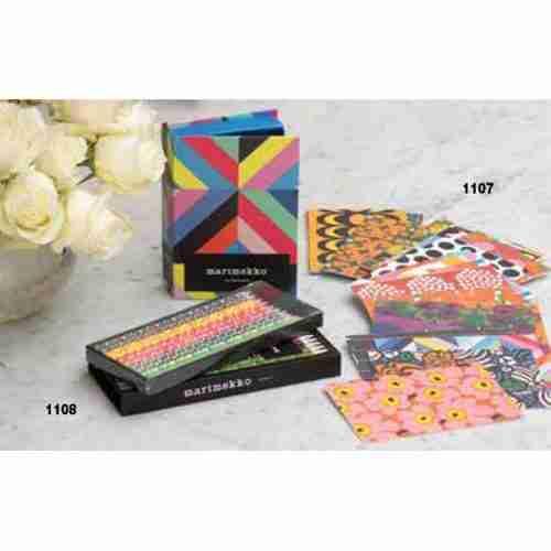 Marimekko Pencil Set/Note Cards
