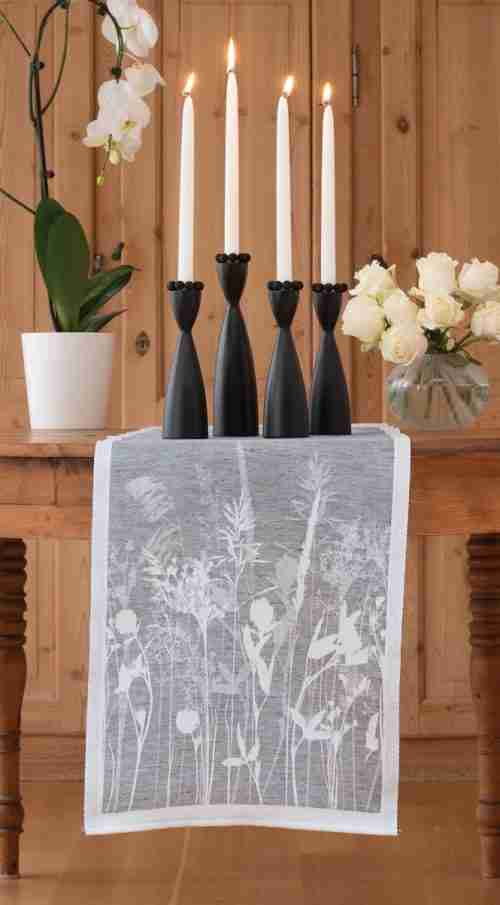 Birch Candleholders from Sweden