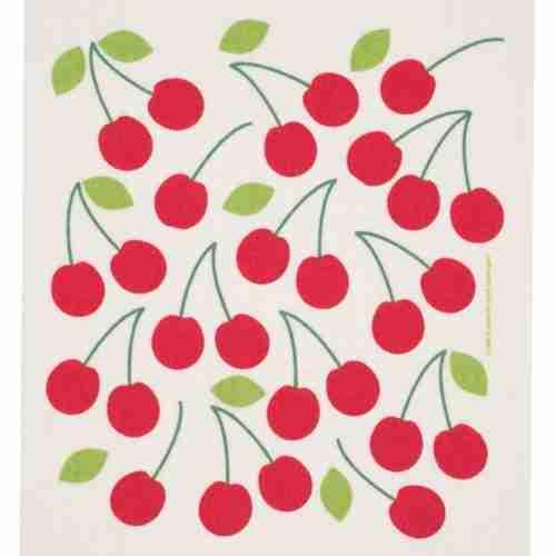 Swedish Dishcloth - Lingonberry
